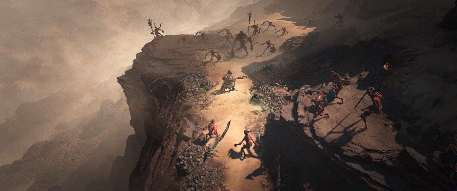 Diablo 4: Combattimento nel Kehjistan - Barbaro vs caduto