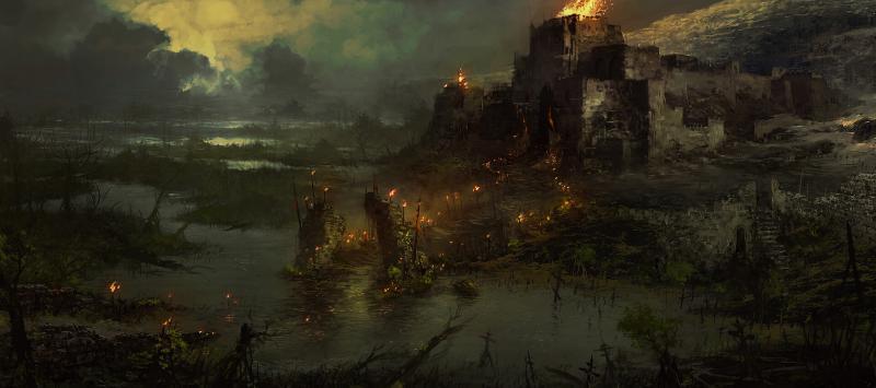 Diablo 4: Hawezar in fiamme