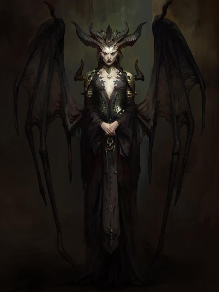 Diablo 4: Arwork Lilith