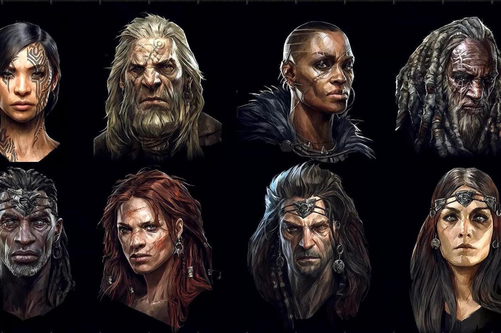 Diablo 4: Personalizzazione volti Barbaro