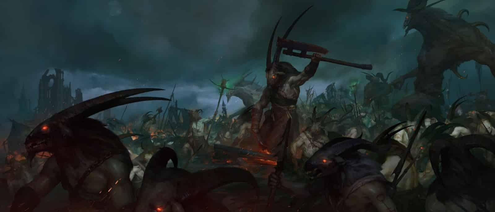 Diablo 4: Uomo capra nelle zone di Scosglen