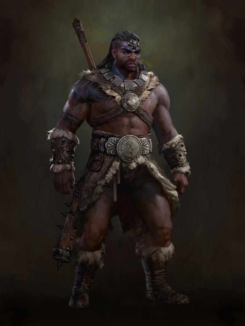 Diablo 4: Artwork Barbaro