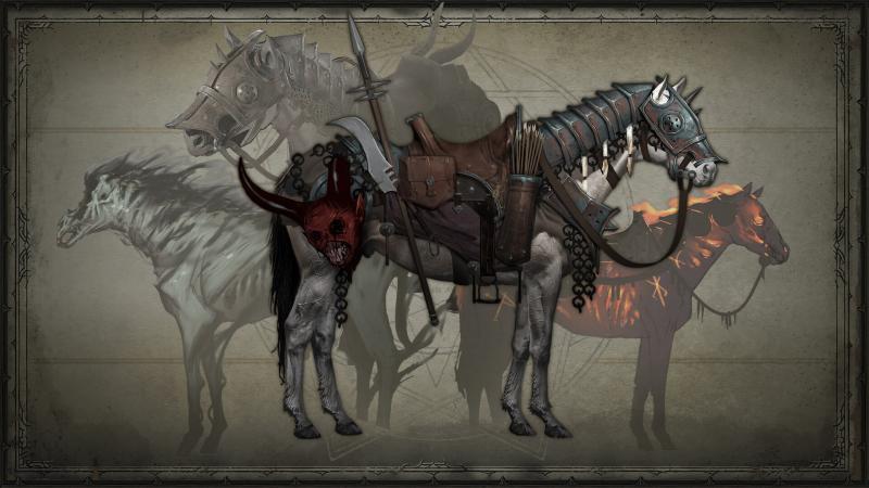 Diablo 4: Concept delle mount