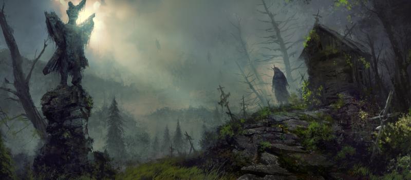 Diablo 4: Concept delle zone di Scosglen