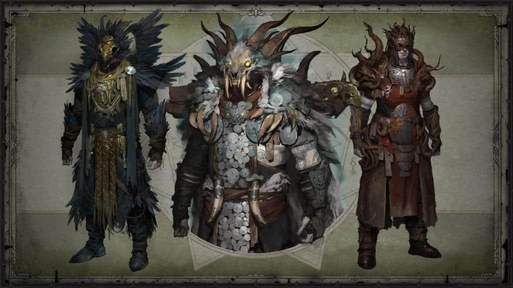 Diablo 4: Concept armature leggendarie druido