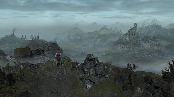 Diablo 4: Vista su Scosglen Corbach