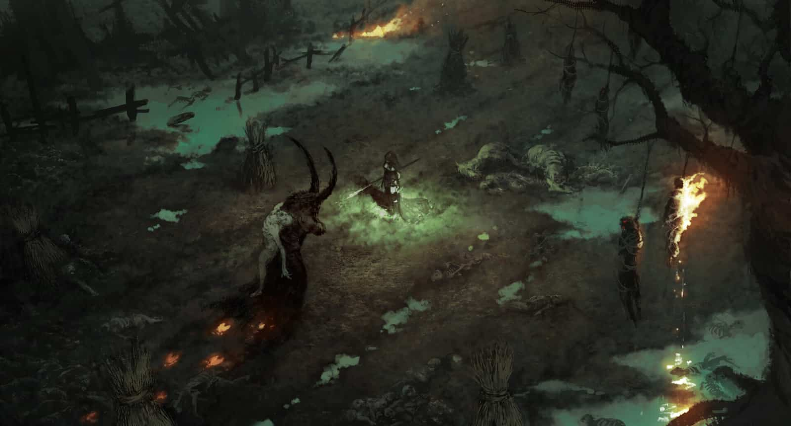 Diablo 4: Fattoria nelle zone di Scosglen sotto assedio