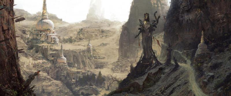 Diablo 4: Artwork Steppe aride