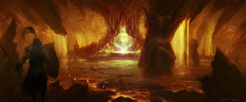 Diablo 4: Artwork dell'Inferno