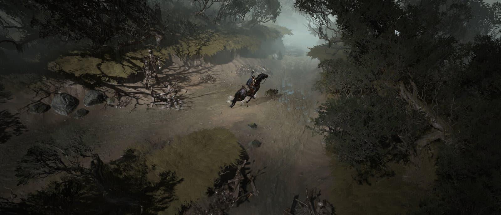 Diablo 4: Maga a cavallo nelle zone di Hawezar