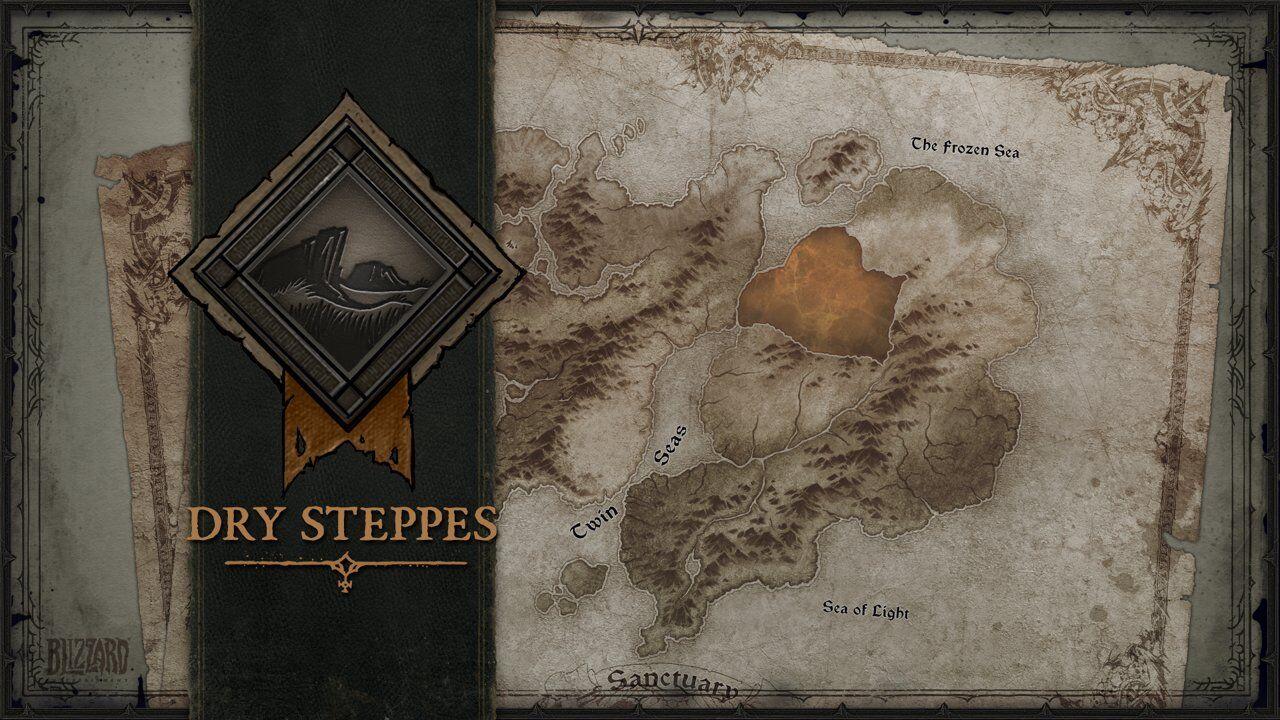 Diablo 4: Steppe aride