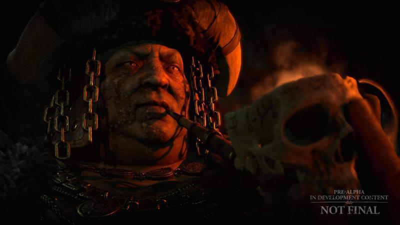Diablo 4 Giugno 2020 - I filmati di gioco di Diablo IV contribuiscono alla creazione di un'atmosfera oscura.