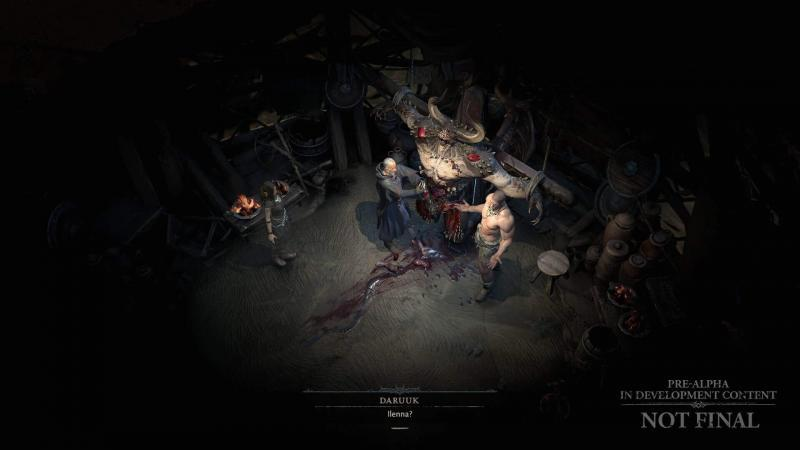 Diablo 4 Giugno 2020 - Una visuale più dettagliata dall'alto ci aiuta nella creazione delle storie