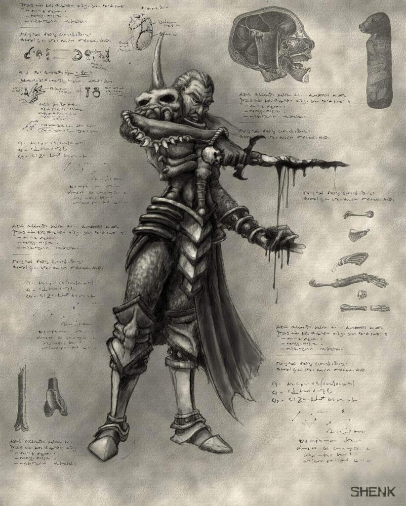 Diablo - Sacerdoti di Rathma, negromanti
