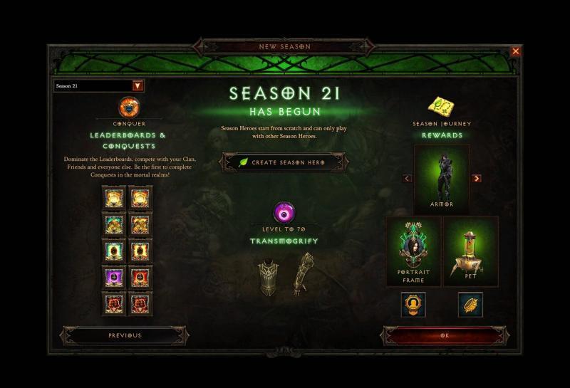 Diablo 3 - Stagione 21 immagine riassuntiva