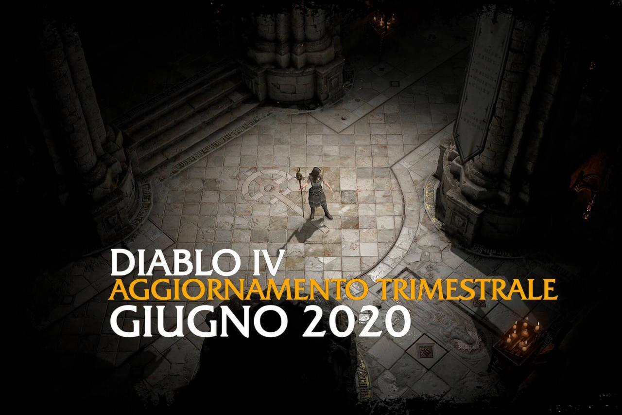 Diablo 4 Aggiornamento Trimestrale Giugno 2020 immagine in evidenza