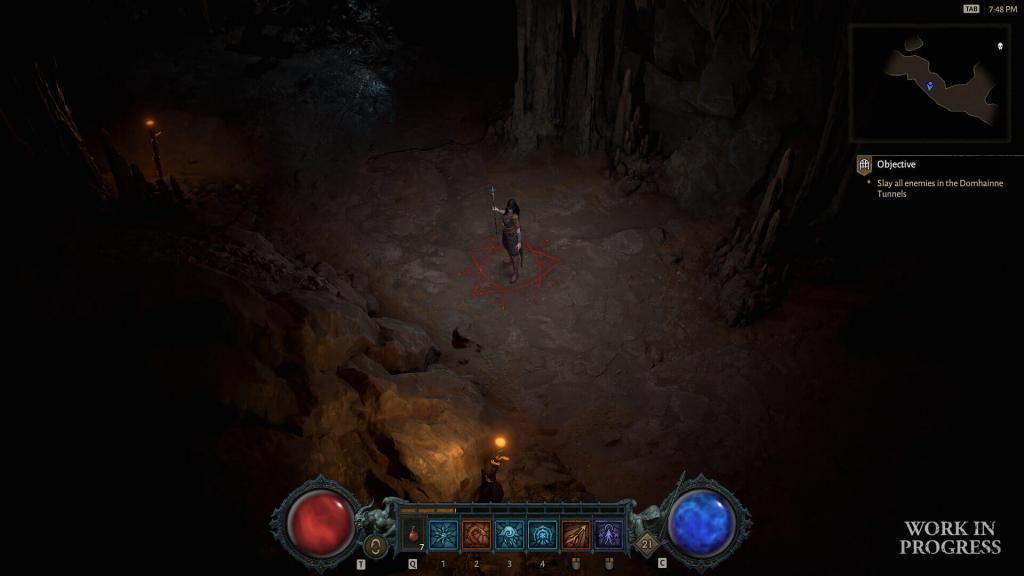 Diablo 4 anteprima barra azioni