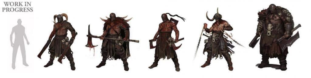 Diablo 4 famiglia mostri cannibali