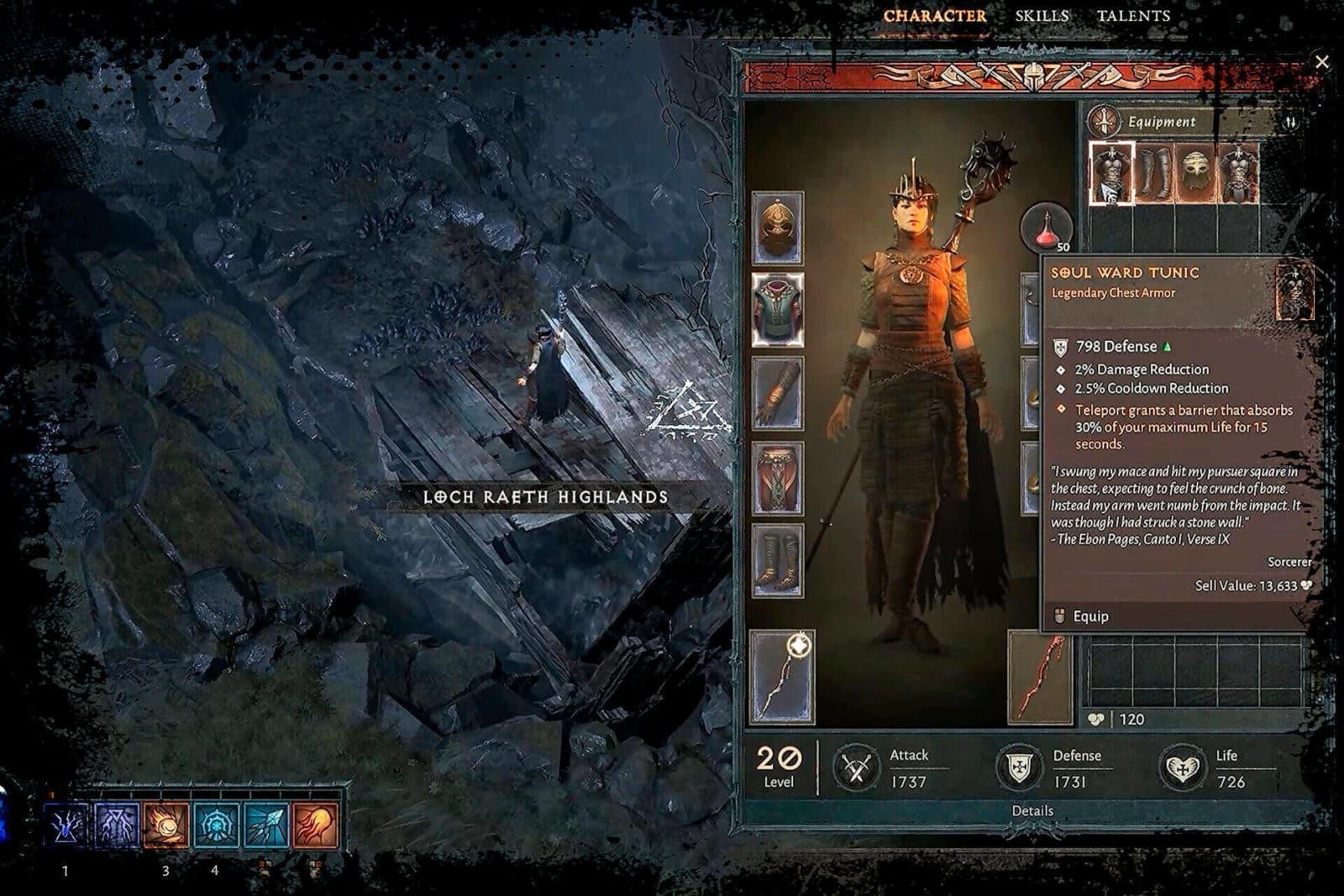 Diablo 4 Oggetti e Rarità