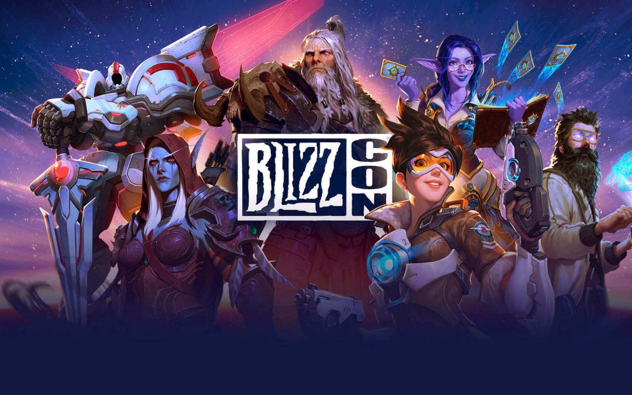 Blizzcon immagine di copertina