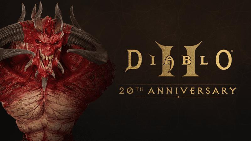 Diablo II - Busto celebrativo 20esimo anniversario