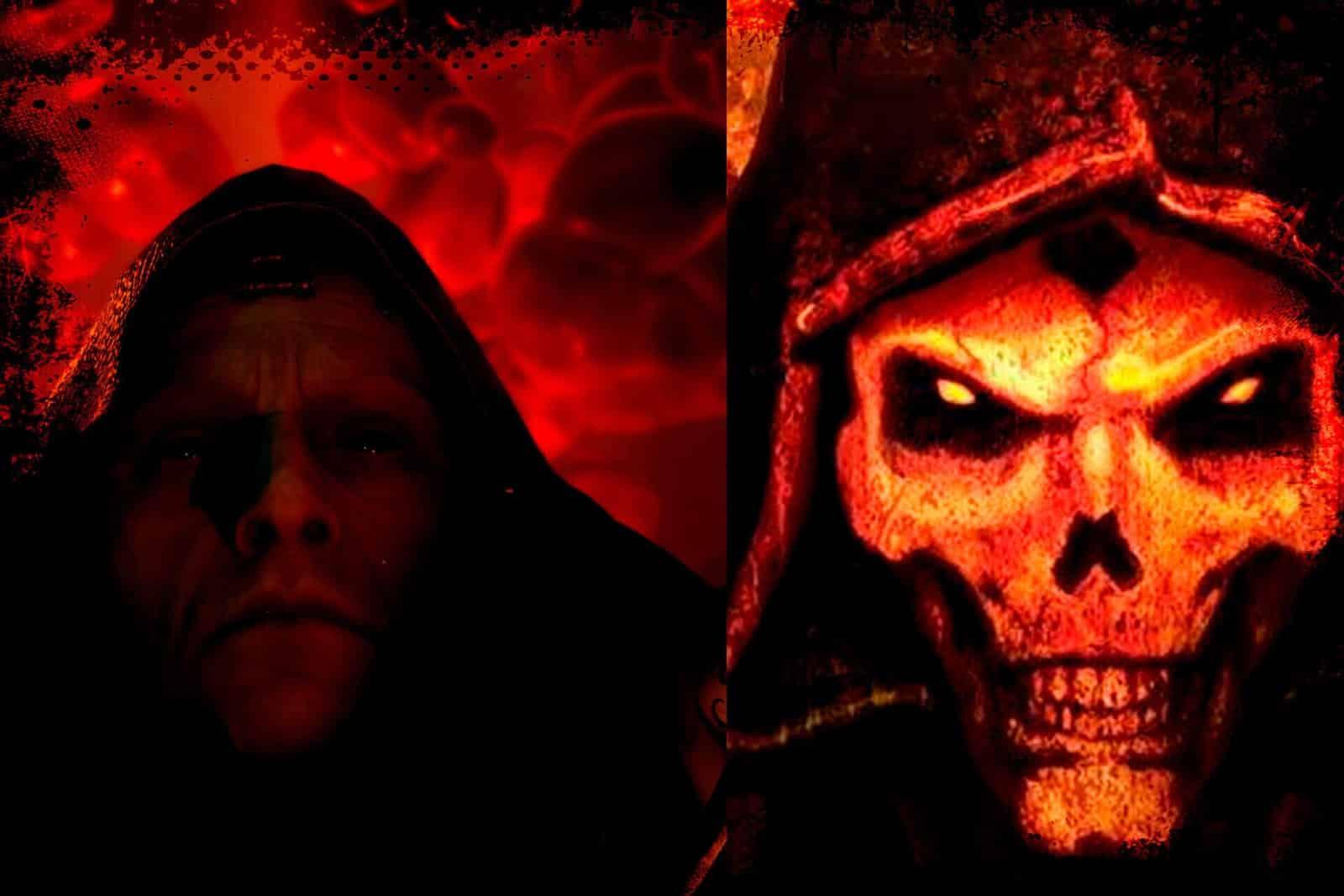 Diablo 4 e Diablo II il Viandante Oscuro confronto