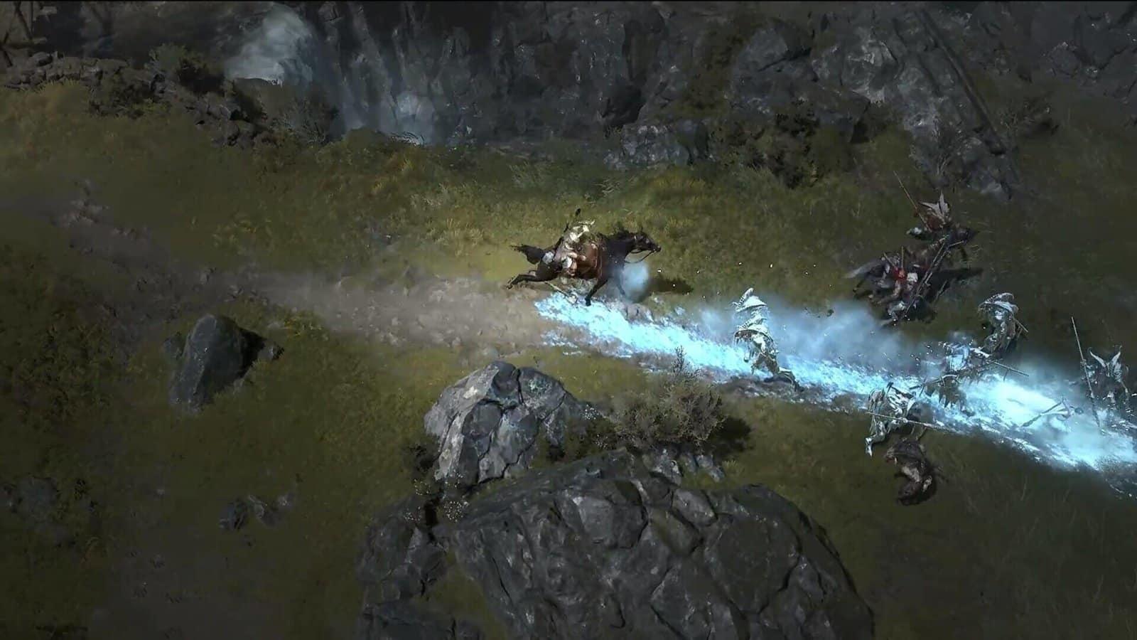 Diablo IV - Discesa dalla cavalcatura