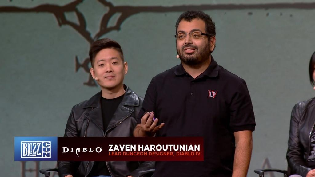 Zaven Haroutunian Lead Dungeon Designer