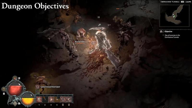 blizzcon 2019 diablo4 spedizioni avanzate keyed dungeons dungeon a obiettivi
