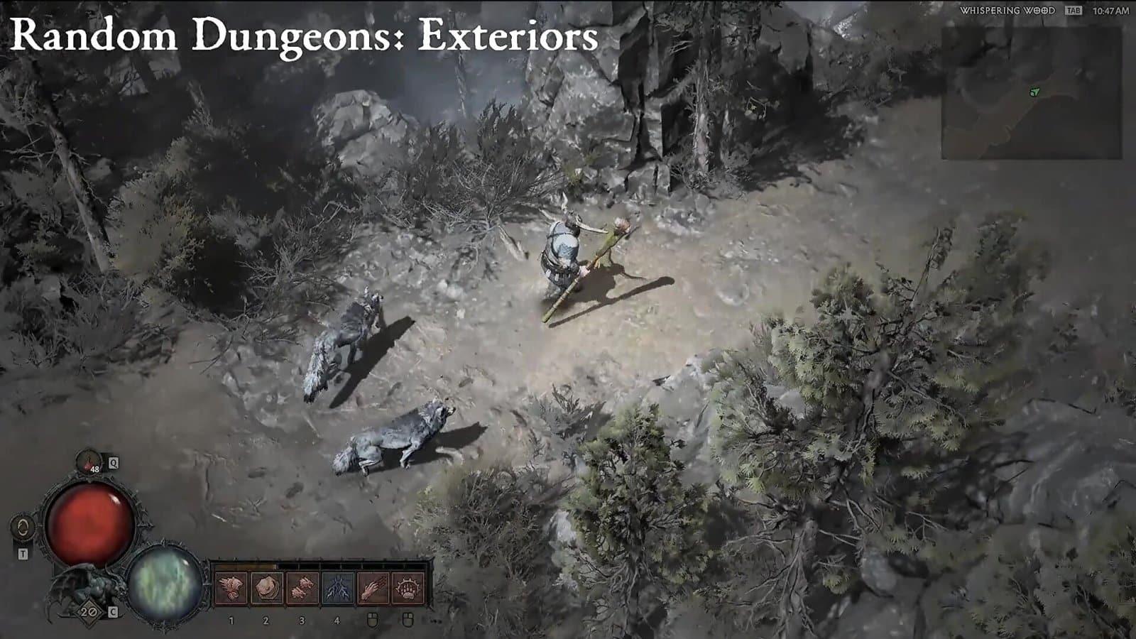 blizzcon 2019 diablo4 spedizioni avanzate keyed dungeons esterni