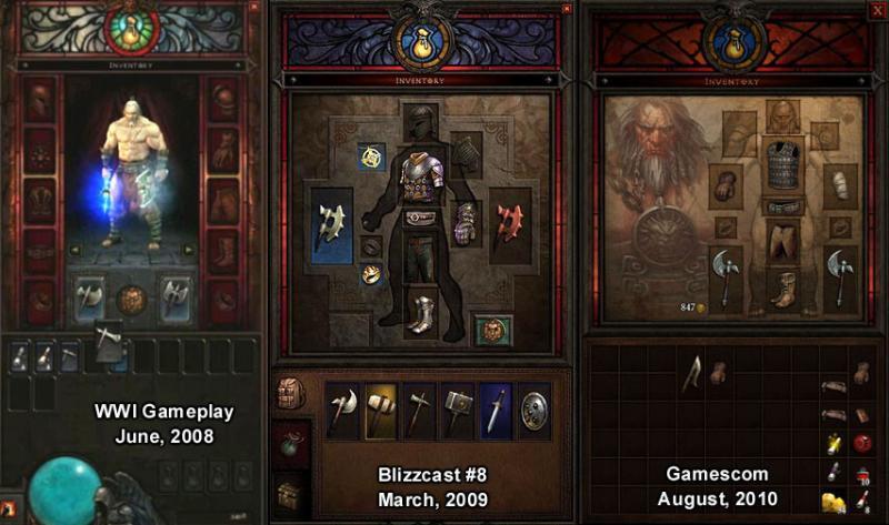 Comparativa inventario Diablo 3