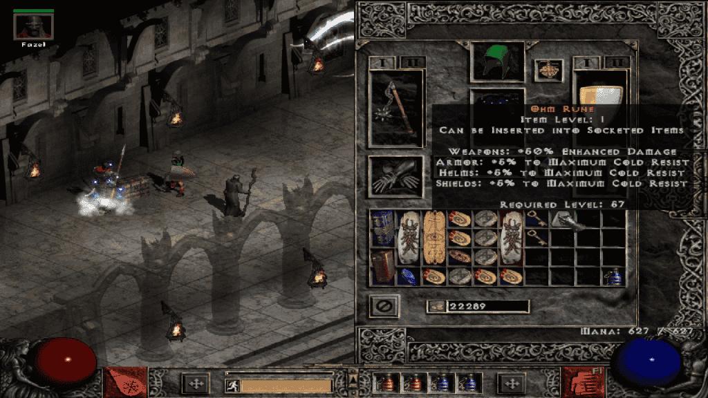 Diablo 2 - Inventario