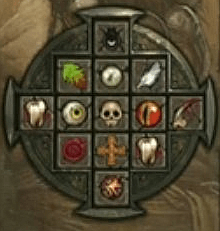 dettaglio del Talismano di Diablo 3