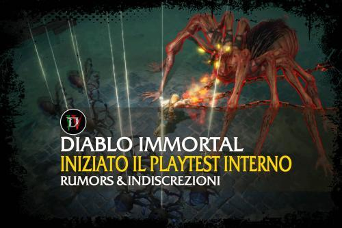 Diablo Immortal – Iniziato il playtest interno
