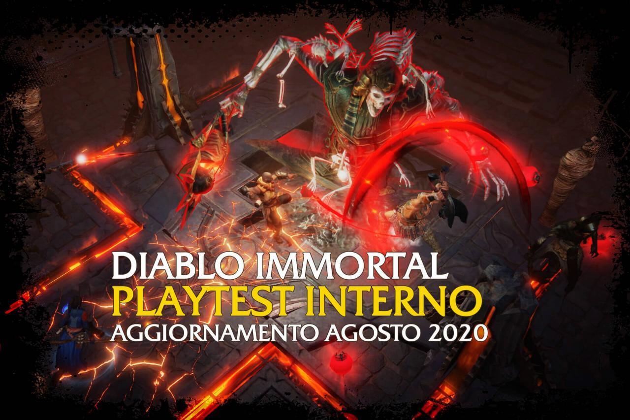 Diablo Immortal - Agosto 2020