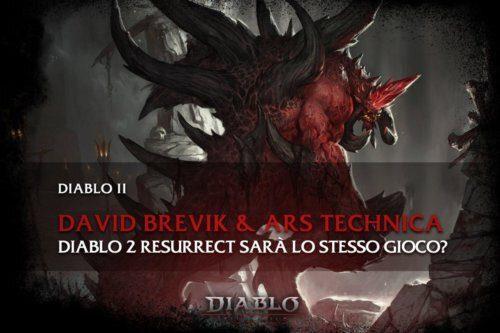 Diablo 2 Resurrect sarà lo stesso gioco?