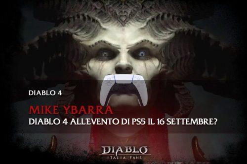 Diablo 4 sarà presente all'evento di PS5 il 16 settembre?