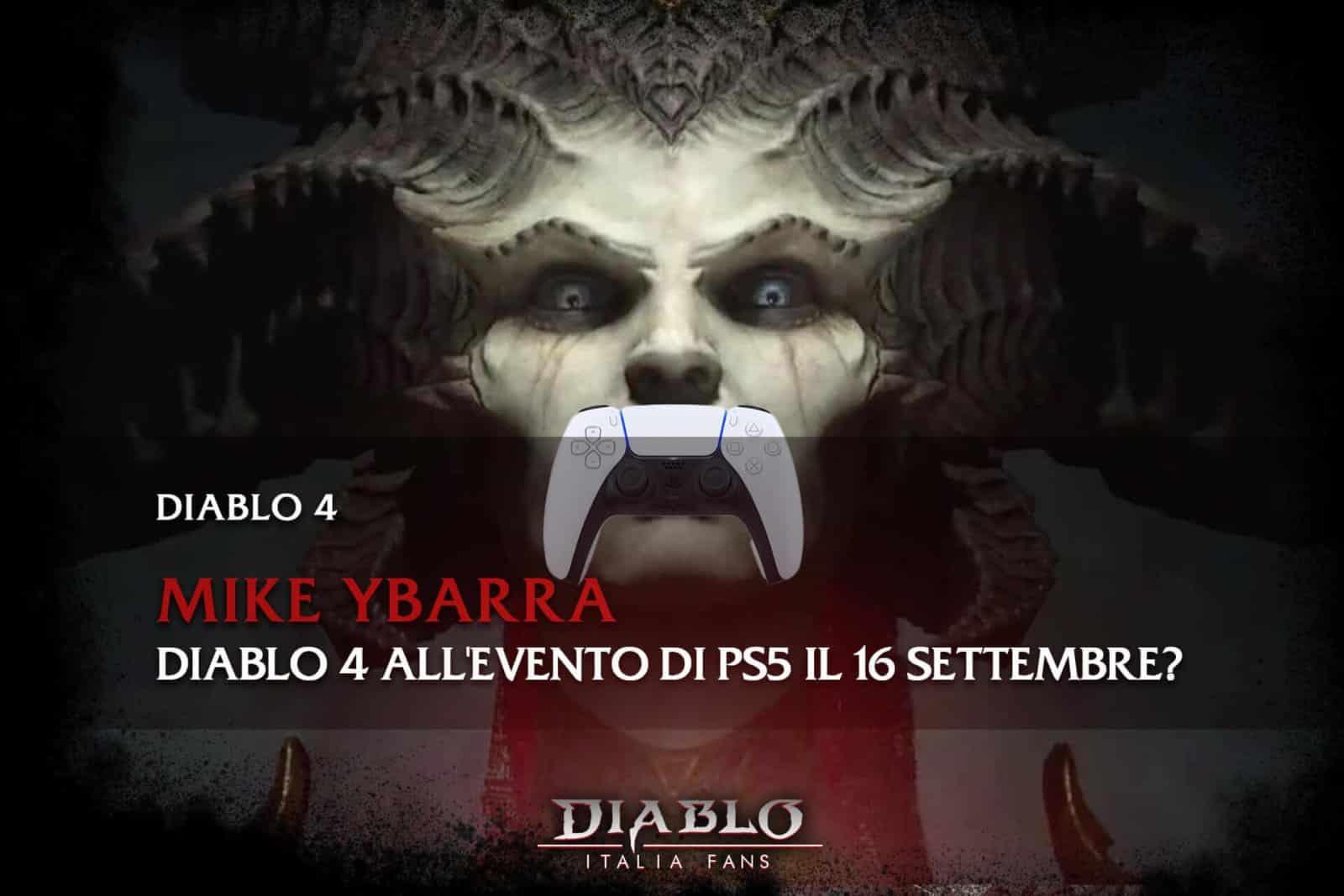 Diablo 4 sarà presente all'evento di PS5 il 16 settembre