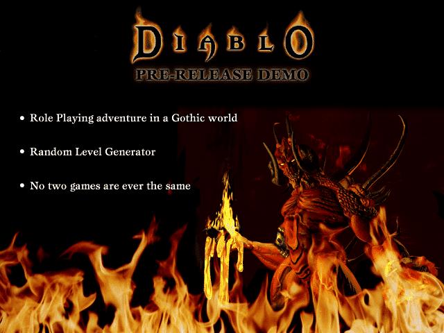 Diablo Pre-Alpha demo