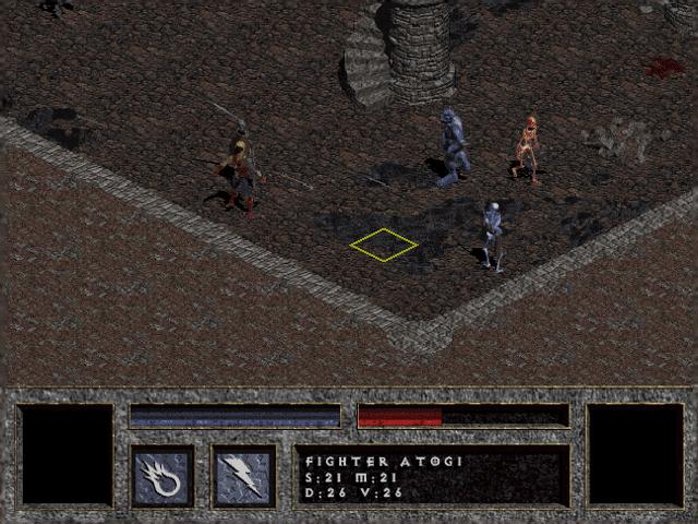 alpha1 diablo catacombe combattimento a turni