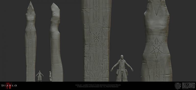 Modellazione di Laurent Pierlot Chris Jennings e Alexandra Reeves Diablo 4