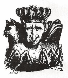 bozza disegno re leoric diablo