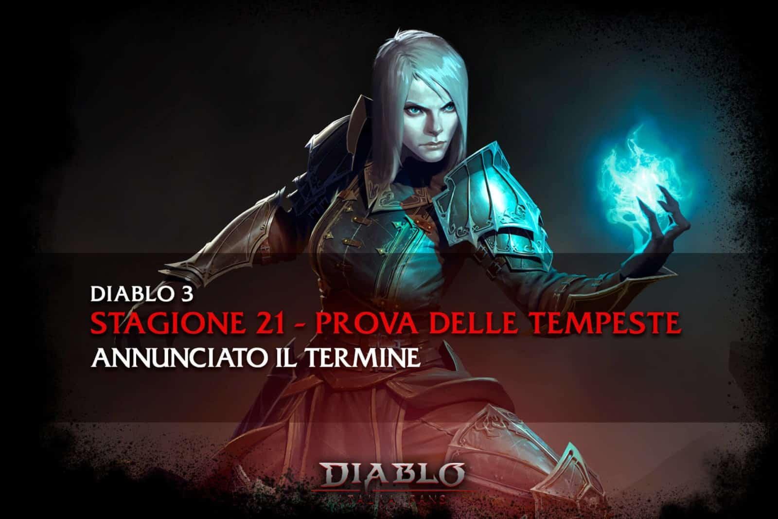 Diablo Italia Fans - Diablo 3 Stagione 21 conclusione