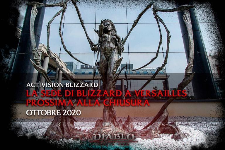 La sede di Blizzard a Versailles prossima alla chiusura