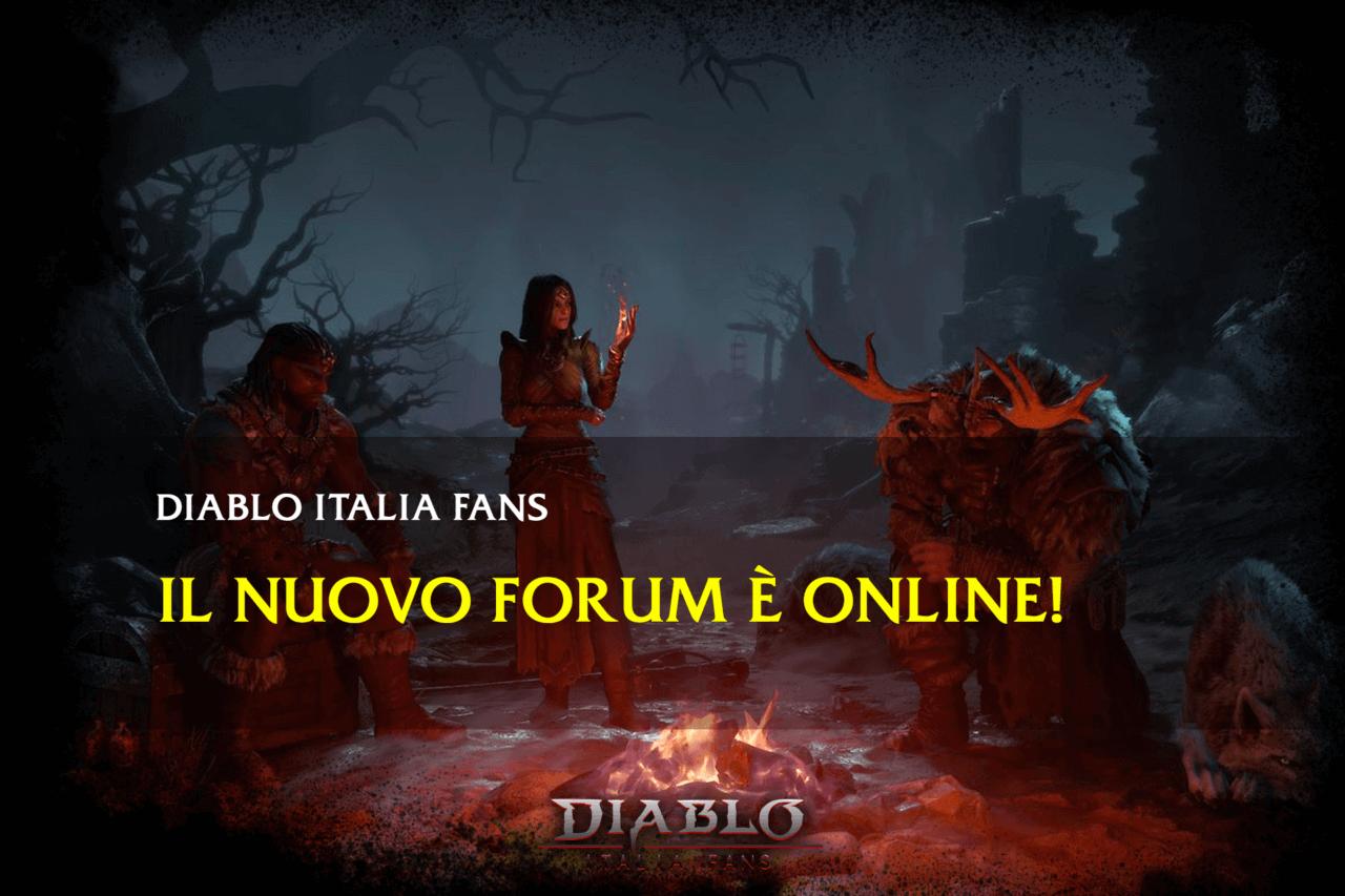 Forum diablo italia fans