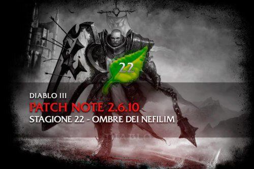 Diablo 3 - Patch note 2.6.10