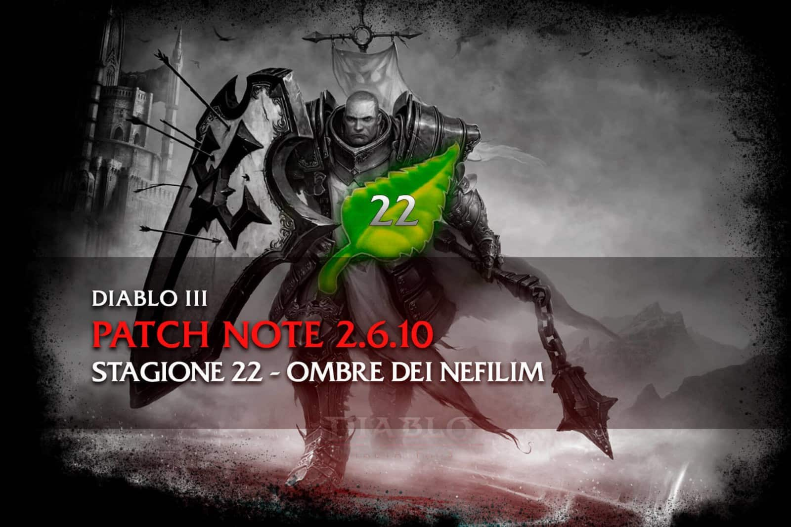 Diablo 3 - Patch note 2.6.10