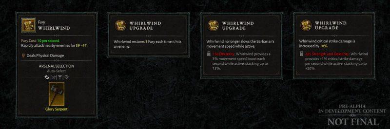 Diablo IV Aggiornamento trimestrale dicembre 2020 - bonus statistica primaria
