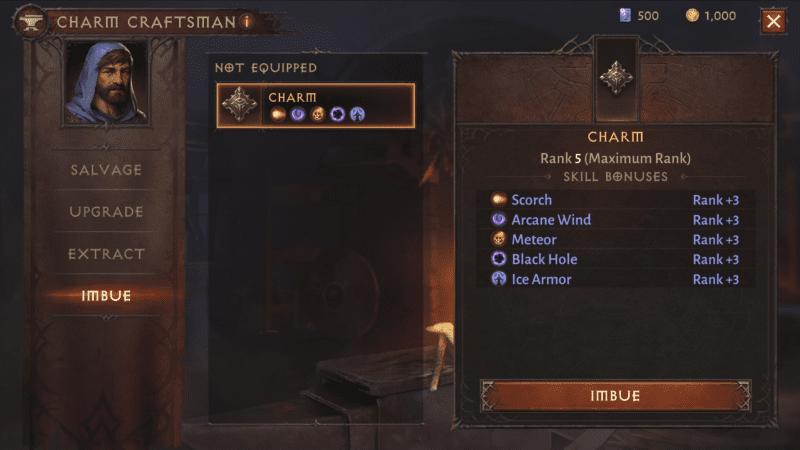 Diablo Immortal - I talismani potenziano le proprie abilità.