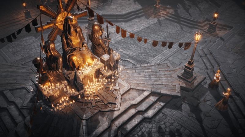 Diablo Immortal - La città di Cuor della Marca